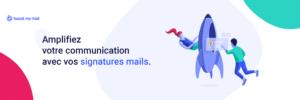 Personnaliser Signature Mail Entreprise Communication Bannière Mail Outlook Gmail MailMac