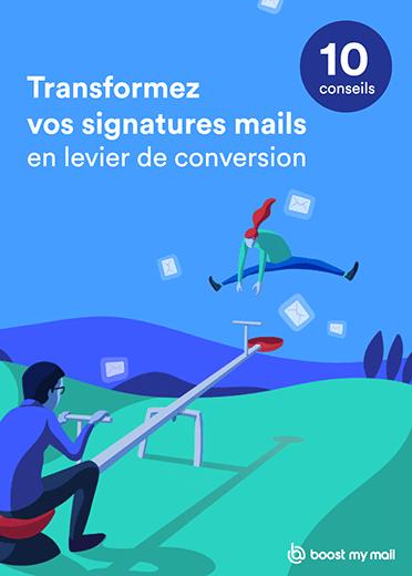 Livre Blanc Transformer Signature Mail Levier d'acquisition Emailing