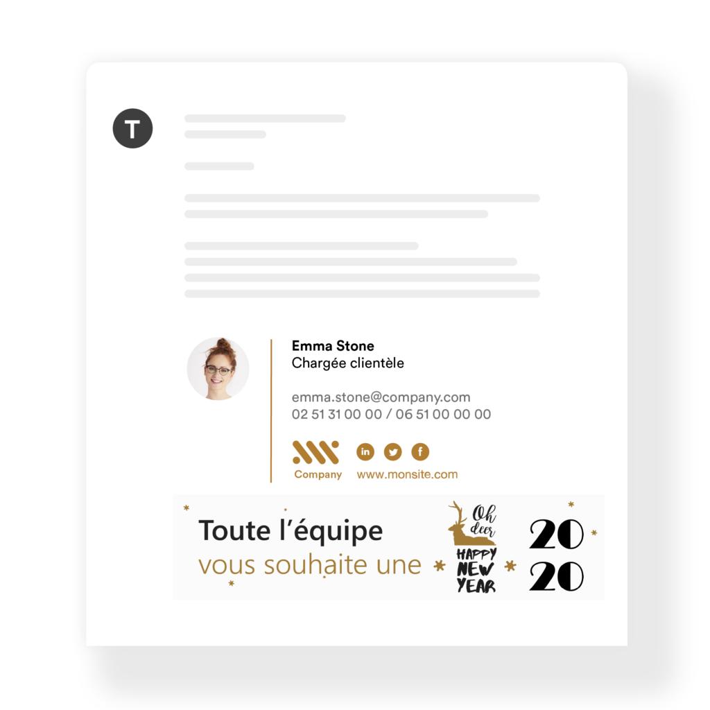 signature mail bonne annee