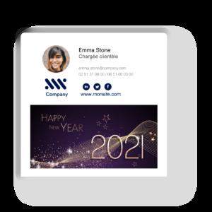 email bonne année