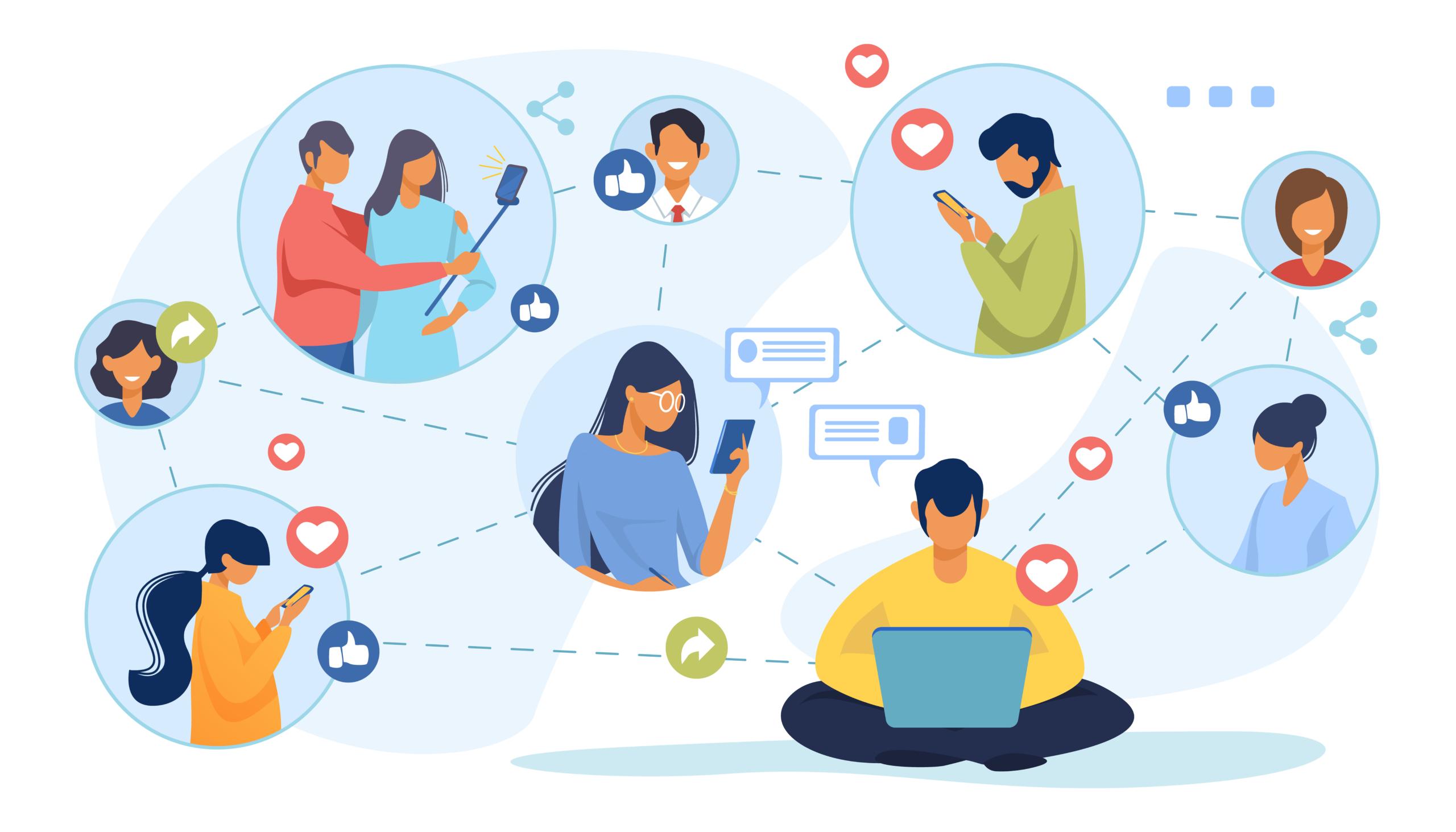 Réseaux sociaux et marketing d'influence